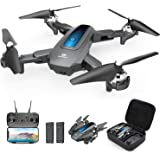 DEERC Drone with Camera 720P HD FPV Live Video 2 Batteries and Carrying Case, RC Quadcopter Helicopter for Kids and Adults, G