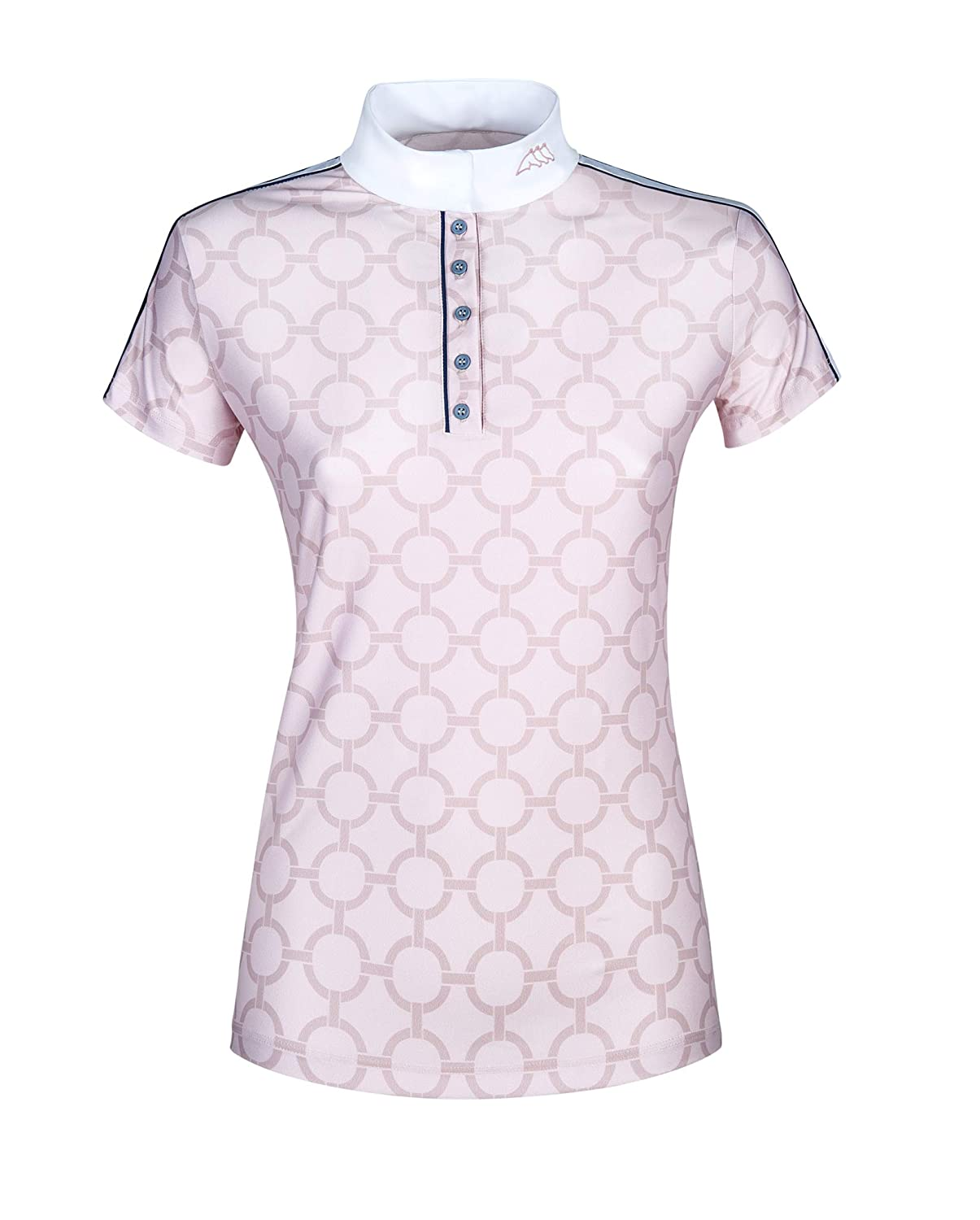 EQUILINE BELEN WOMENS COMP POLO SHIRT S//S PINK SS 2019