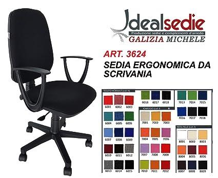 Idealsedie di galizia michele sedia da scrivania sedia girevole