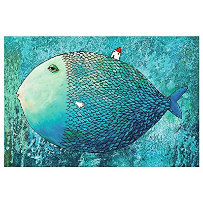 DAGE 1000 Pieces Jigsaw Puzzles, Rainbow Castle, Assembling Game Set Educational Toys Entertainment Puzzles Toys Family Gathering Interesting Toys: Toys & Games