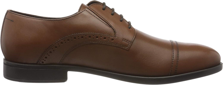 Geox U Domenico B Zapatos de Cordones Derby para Hombre