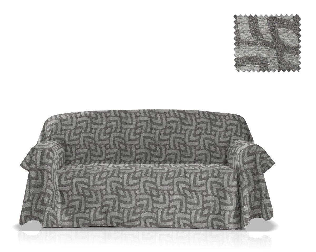JM Sofa Slipcover Pema Size 180x270 Cm, Grey Colour Bartali