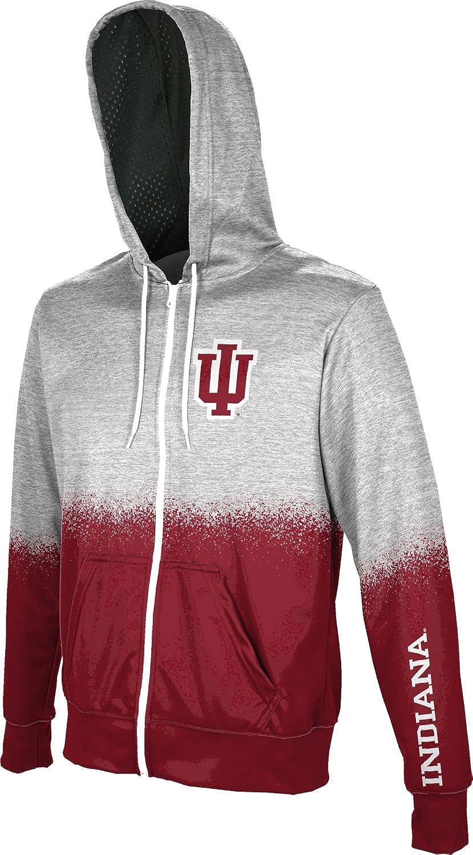 ProSphere Indiana University Mens Fullzip Hoodie Spray Over