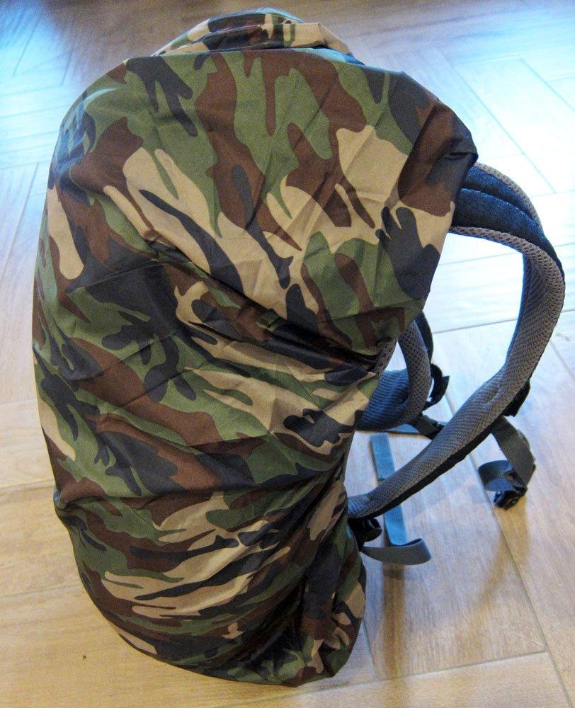 pluie de protection pluie Housse Camouflage tache/ /Camouflage Sac /à dos Housse /avec cordon en caoutchouc universel compatible avec sacs /à dos jusqu/à 60/cm Longueur Outdoor saxx/®/