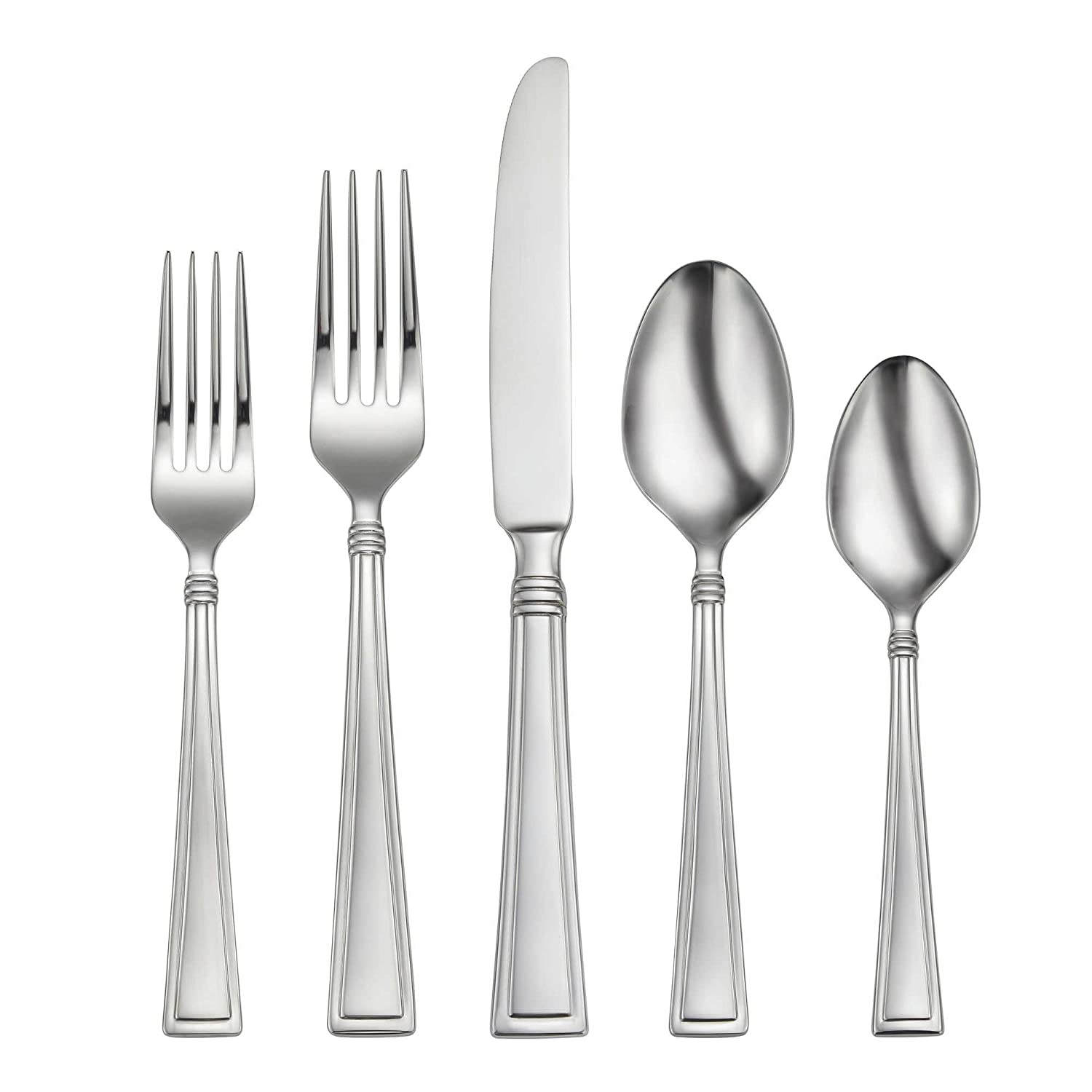 Amazon.com | Oneida Butler 45-Piece Flatware Set, Service for 8: Flatware Sets
