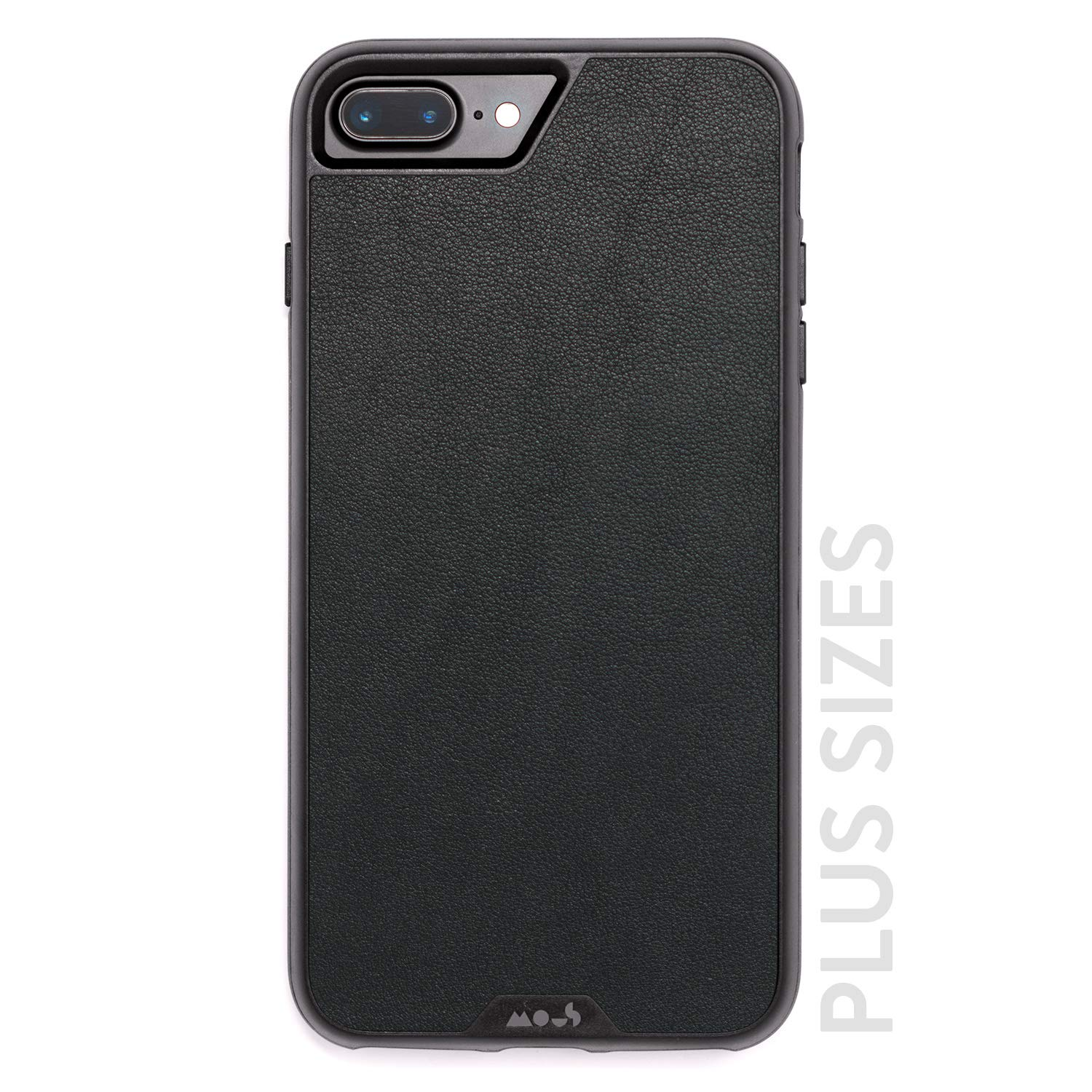 Mous Protective iPhone Case 8+/7+/6s+/6+ Plus - Black Leather - Limitless 2.0