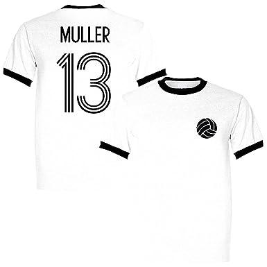cheap for discount fe4a2 27b8c Sporting Empire Gerd Muller 13 Germany Legend Ringer Retro T ...