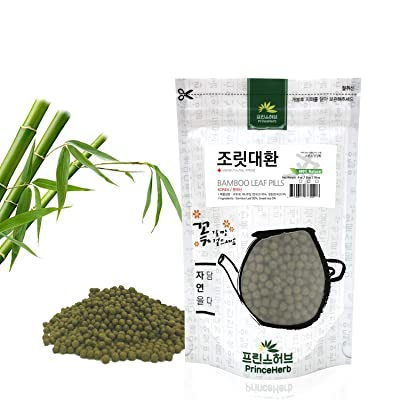 [Medicinal Korean Herbal Pills] 100% Natural Bamboo Leaf Pills/조릿대 환 4oz (113g) : Garden & Outdoor