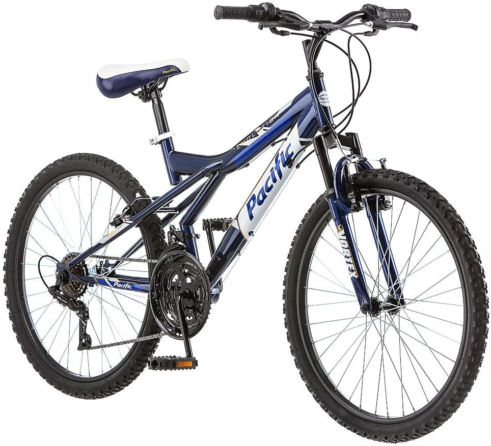 Pacific Evolution 24 Inch Boy s Mountain Bike