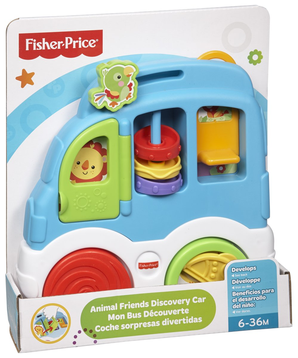 Infant - Coche, sorpresas Divertidas Fisher-Price (Mattel CMV93): Amazon.es: Juguetes y juegos