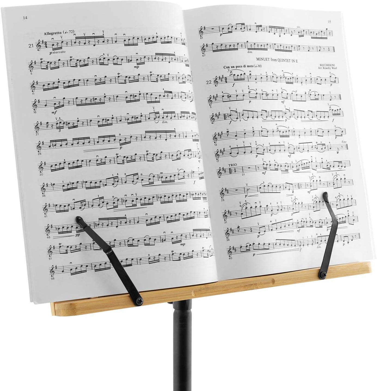 Theodore Pupitre /à musique en bambou avec tr/épied