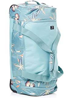 Amazon.com  Roxy Women s Distance Accross Wheeled Duffle Bag ... 4456e5e350