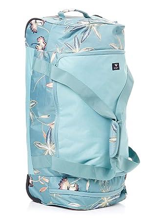 Roxy Distance Across Wheelie Womens Duffle Bag One Size Trellis Bird Flower e1eec8bccea97