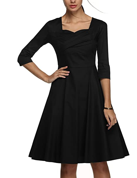Amazon Up Beauty Vintage 34 Sleeve 1950s Audrey Hepburn Style