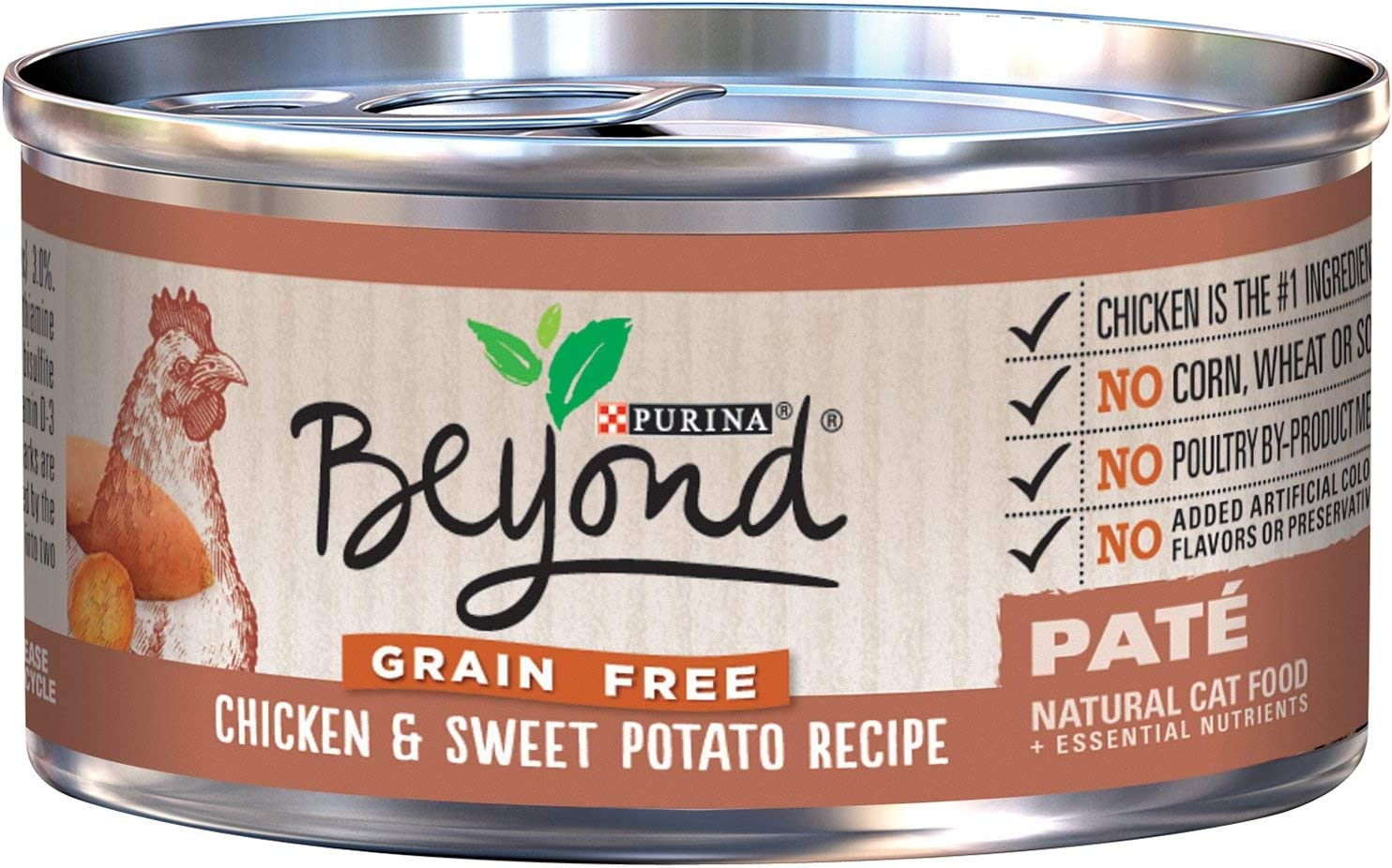 Purina Beyond Best Natural Wet Cat Food Grain Free (12 Pack) 3 oz,Can Treats Favorites Wellness Feast Nutrition Gourmet