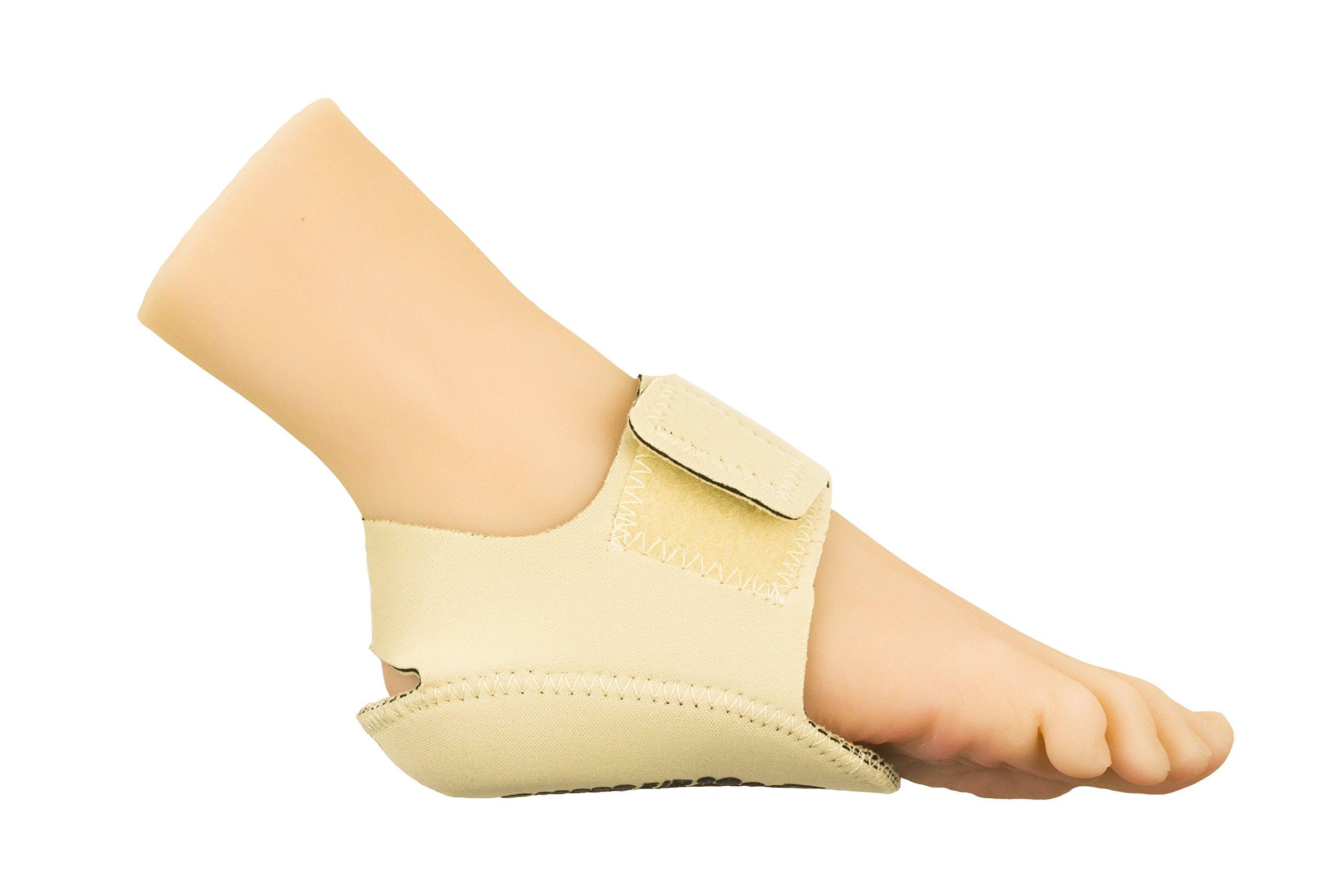 Heel That Pain Heel Seat Wraps for Plantar Fasciitis and Heel Spurs (Medium)