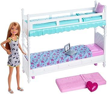 Barbie Life in a Dreamhouse Möbel, Schlafzimmer - Stacie mit ...