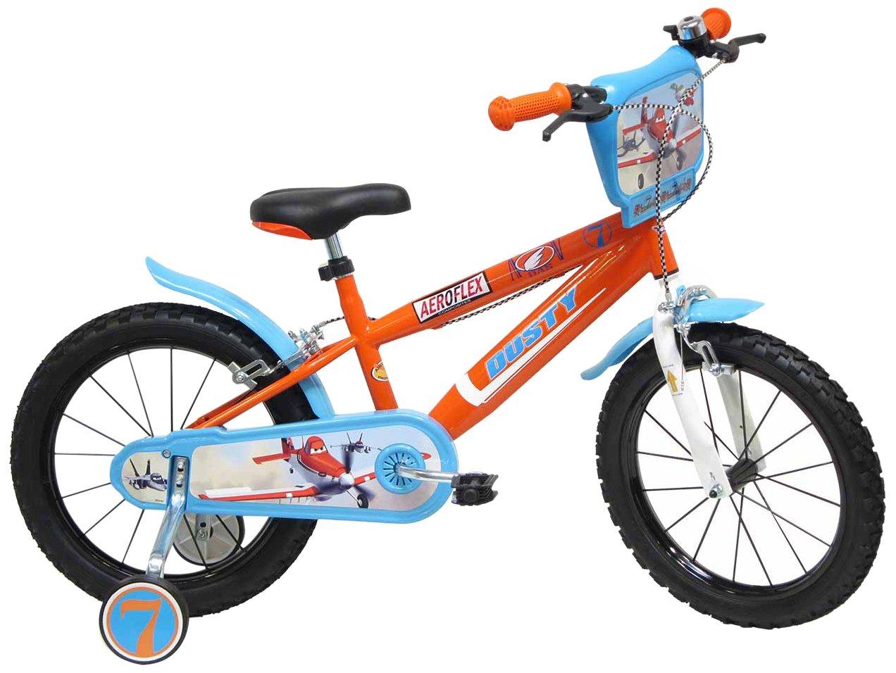 16 Boy Official Disney Planes Dusty Bicycle by Disney B00F9BB86A
