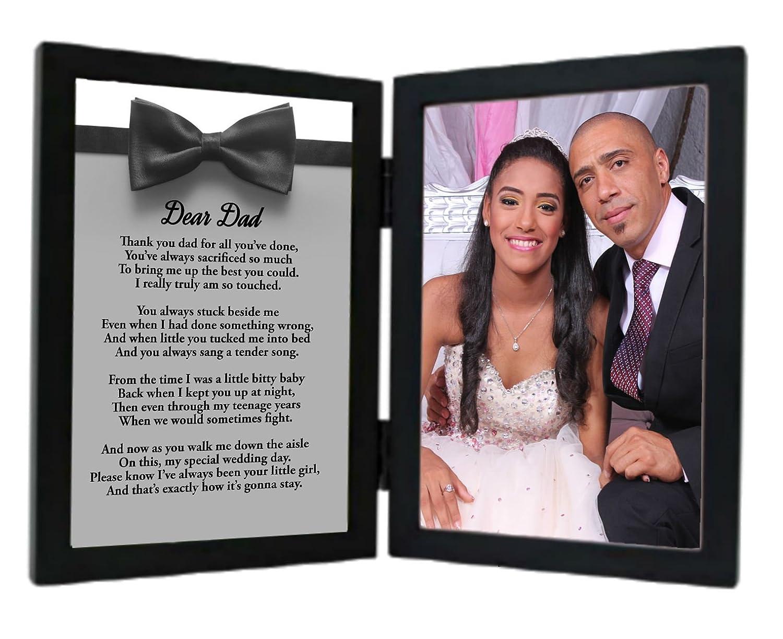 Geschenk für Vater von Tochter auf, wird Ihre Hochzeit Tag, Dear Dad ...
