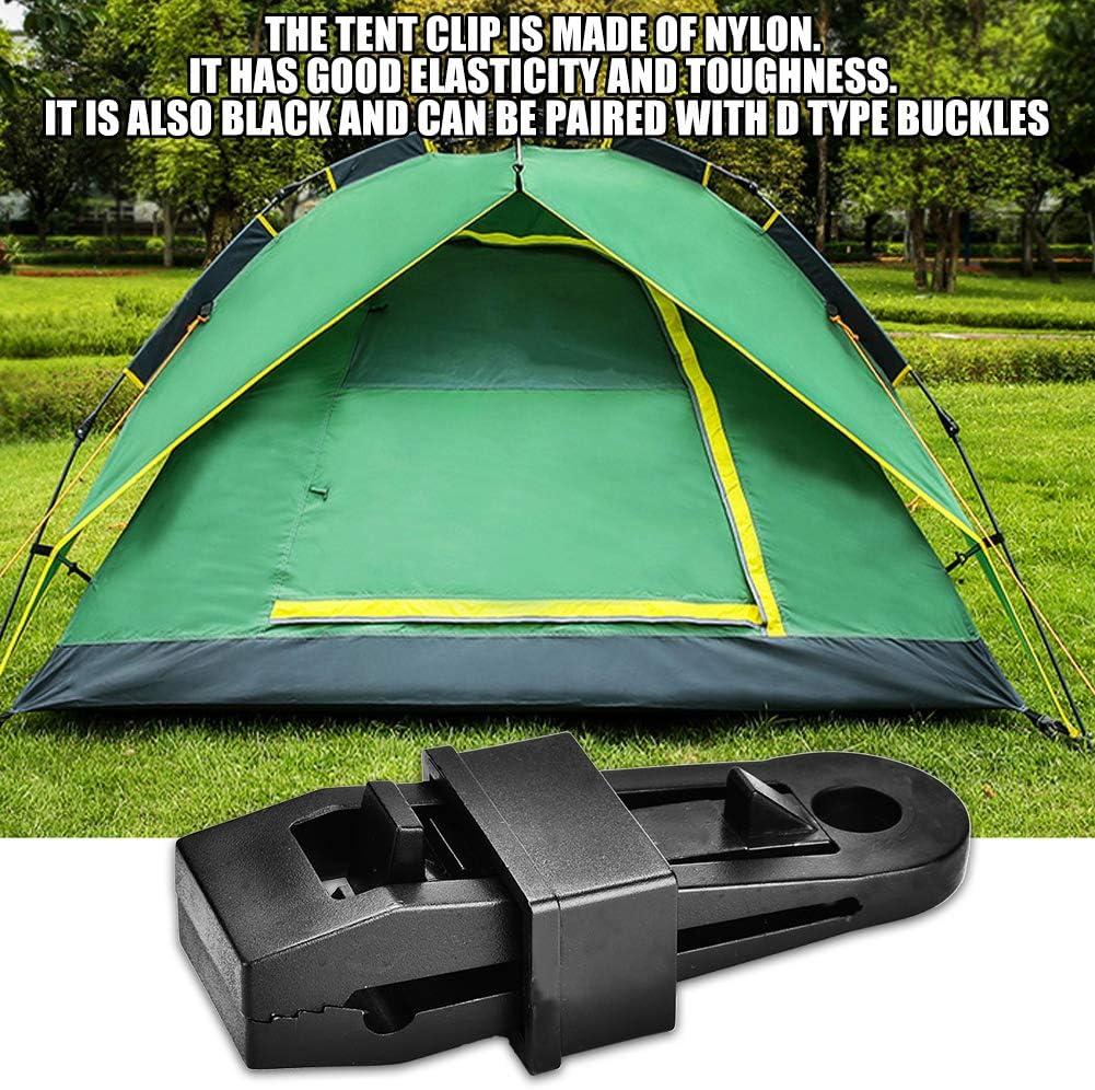Azarxis Clips de Tente Clips de B/âche Pince de Tente avec /œillet Clips Fixation pour Tente B/âche Camping en Plein Air