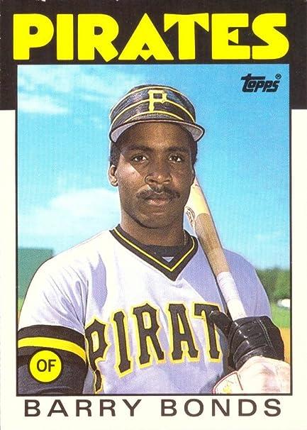 Amazoncom 1986 Topps Traded Baseball 11t Barry Bonds