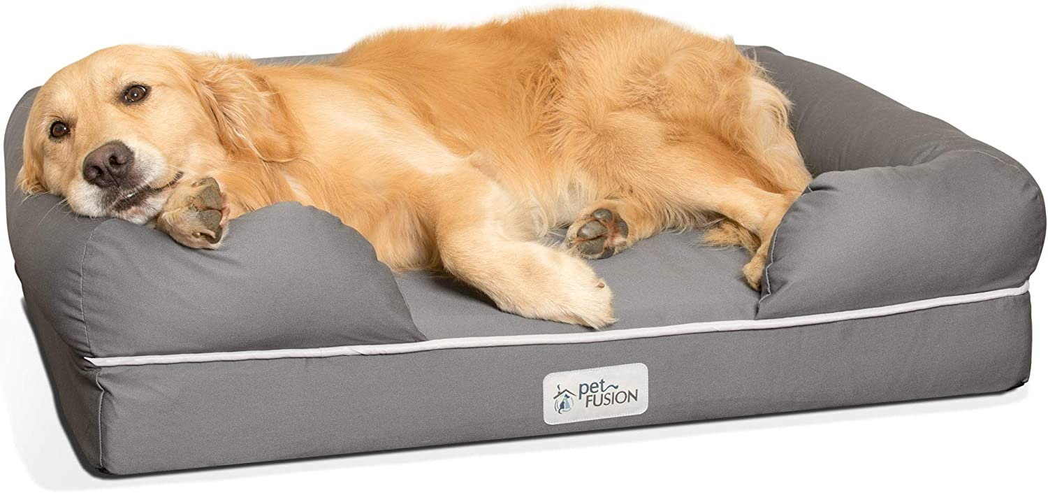 PetFusion Ultimate Dog Bed & Lounge. (Large; 36x28x9.5