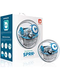 Sphero SPRK+: App-Enabled Robotic Ball & Programmable Robot, Stem Learning & Coding For Kids, Bluetooth Connection, Learn...