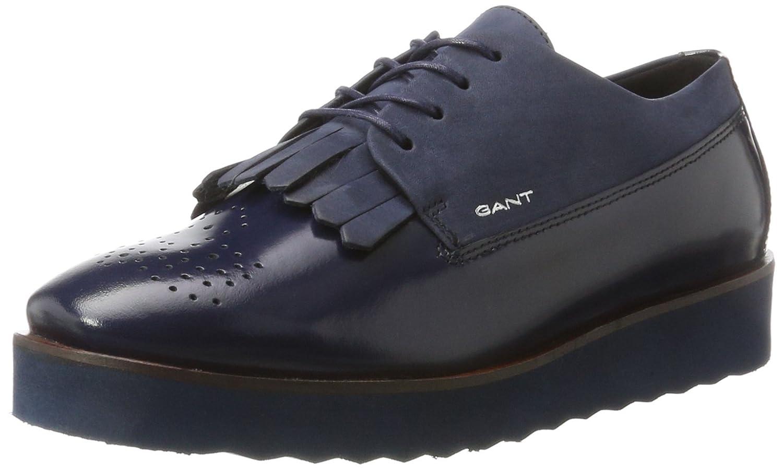 Gant Katie, Zapatos de Cordones Brogue para Mujer 38 EU|Azul (Marine G69)