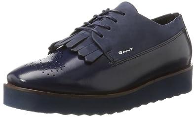 GANT Footwear Damen Linda Sneaker, Schwarz (Black), 37 EU
