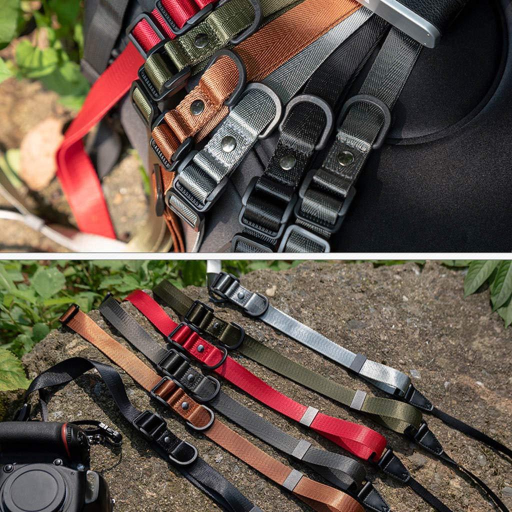 jiulonerst Adjustable Camera Strap Nylon Shoulder Neck Strap Belt for GoPro YI SLR Camera