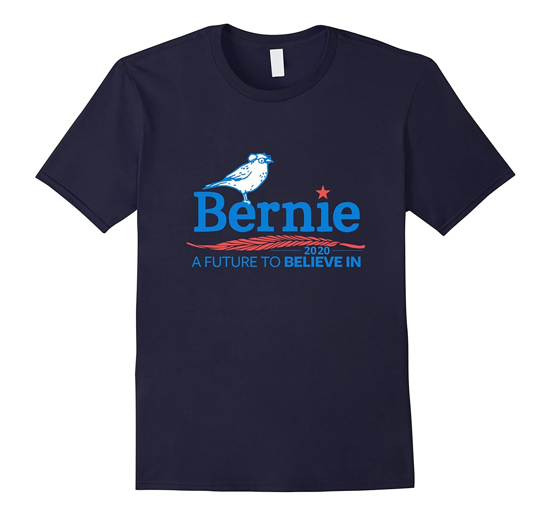 Bernie 2020 A Future to Believe in Feel The Bern T Shirt-TH