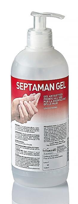 7 opinioni per Disinfettante per le mani Septaman gel 500 ml