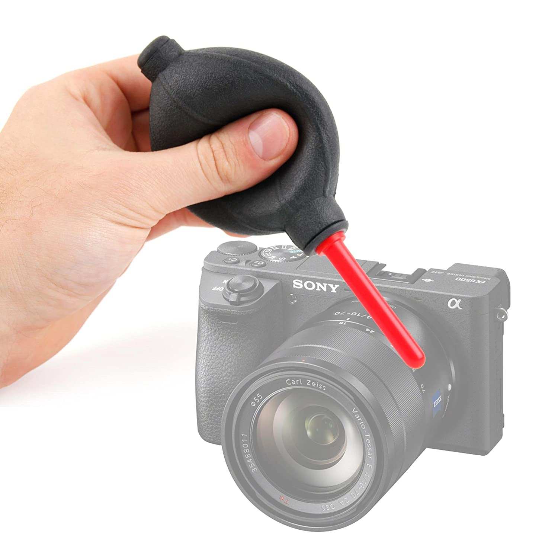 DURAGADGET Soplador Limpiador De Lentes para Cámara réflex Digital ...