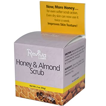 Reviva Honey & Almond Scrub, 2 Oz H2O - Aqualibrium Marine Cleansing Gel - 120ml/4oz