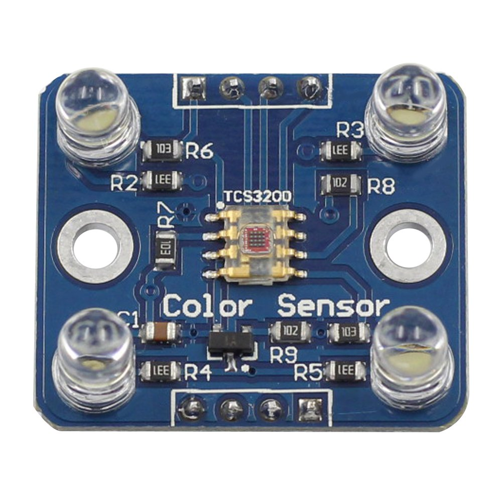 Sunfounder Tcs3200 Rgb Color Recognition Sensor Module For Arduino Sensing Tutorial Tsc230 Tsc3200 Circuit And Raspberry Pi Industrial Scientific