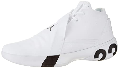 0275e1933 Nike Men s Jordan Ultra Fly 3 White Black Basketball Shoes-11 UK India
