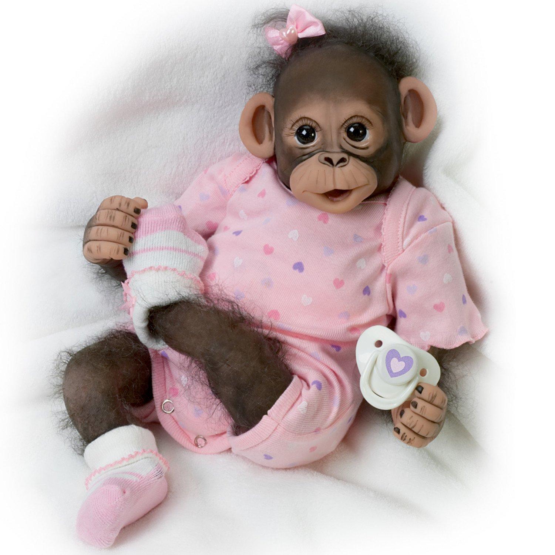 Cute Baby Monkeys In Diapers