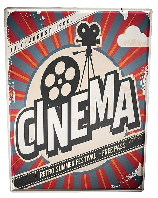 LEotiE SINCE 2004 Cartel Letrero de Chapa XXL Cine Cine ...
