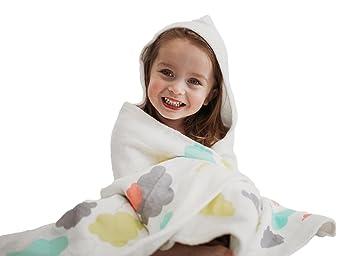 e52cf9633a Amazon.com   Muffle hooded baby towel