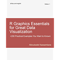 R Graphics Essentials for Great Data Visualization: +200 Practical Examples You Want to Know for Data Science