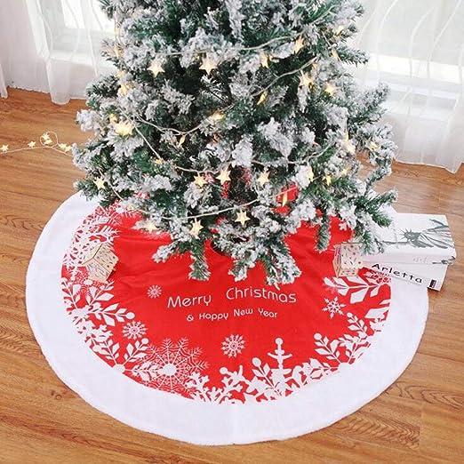 Kingsley Falda de árbol de Navidad, Falda de Terciopelo ...