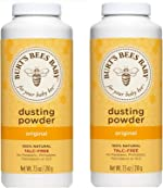 Burt's Bees Baby Bee Dusting Powder Bottle, 7.5-Ounce Bottles (Pack of
