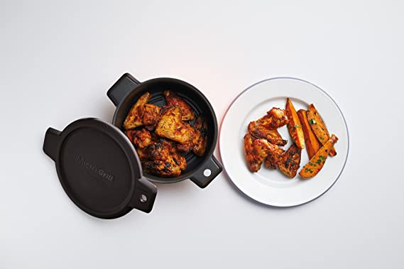 KitchenCraft - Parrilla multifuncional para microondas (26 x 29 x ...