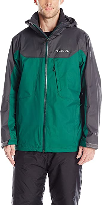 Womens M Columbia WHIRLIBIRD INTERCHANGE 3 IN 1 JACKET REMOVABLE LINER BLACK