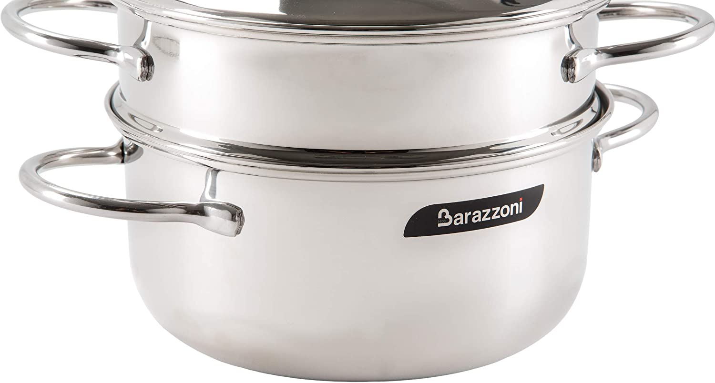 Stahl, Edelstahl Barazzoni vaporset vaporset ohne Boden 20/cm Edelstahl 18//10/ /Made in Italy