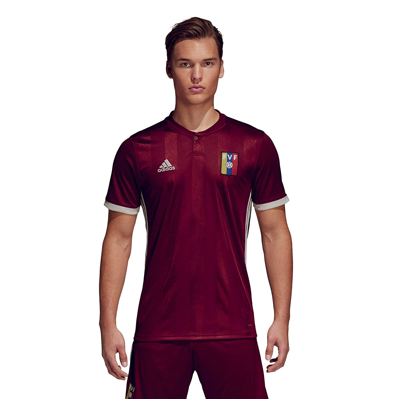 Adidas Venezuela Camiseta de Equipación, Hombre: Amazon.es: Deportes y aire libre