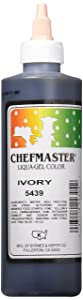 Chefmaster Liqua-Gel Food Color, 10.5-Ounce, Ivory