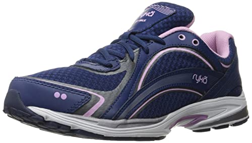 Zapatillas para caminar RYKA Women's Devo Plus 2, azul / rosa, 6 m US