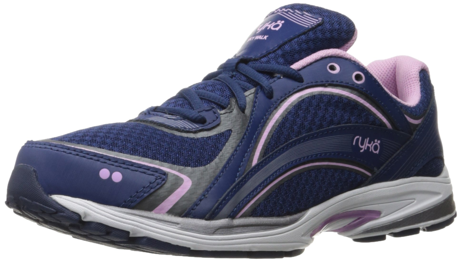 Ryka Women's Sky Walking Shoe, Navy/Lilac, 9 M US