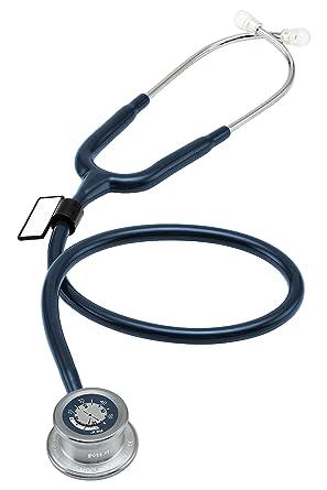 MDF Instruments MDF74004 Pulse Time, Estetoscopio de una Cabeza y Reloj Digital LCD 2 en